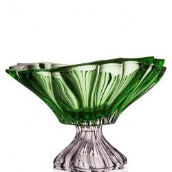 Чаша на ножке зеленая 6KG03/1/72T27/330-K