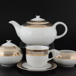 Чайный сервиз Опал 1664300-8400700