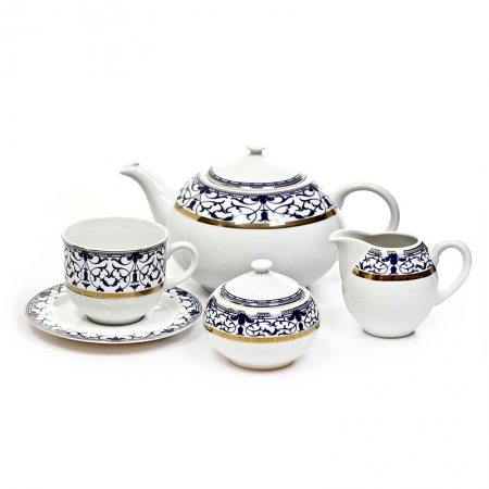 Чайный сервиз 1664300-8409400