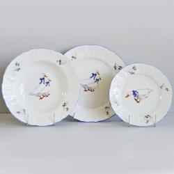Набор из 18-ти тарелок 1758300-5936B59