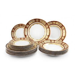 Набор из 18 тарелок 7160119-325A
