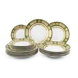 Набор из 18 тарелок 7160119-325B