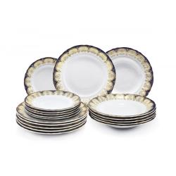 Набор из 18 тарелок 7160119-326A